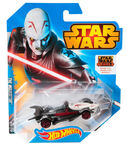CGW48 HOT WHEELS STAR WARS Inquisitor Character Car Hot Wheels Star Wars Character Car Inquisitor XXX 1