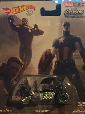 2018 - Pop Culture - Marvel Concet Art 3-5 - 3D-Livery