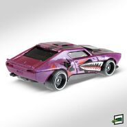 2019 Hot Wheels Muscle Bound 2nd color back