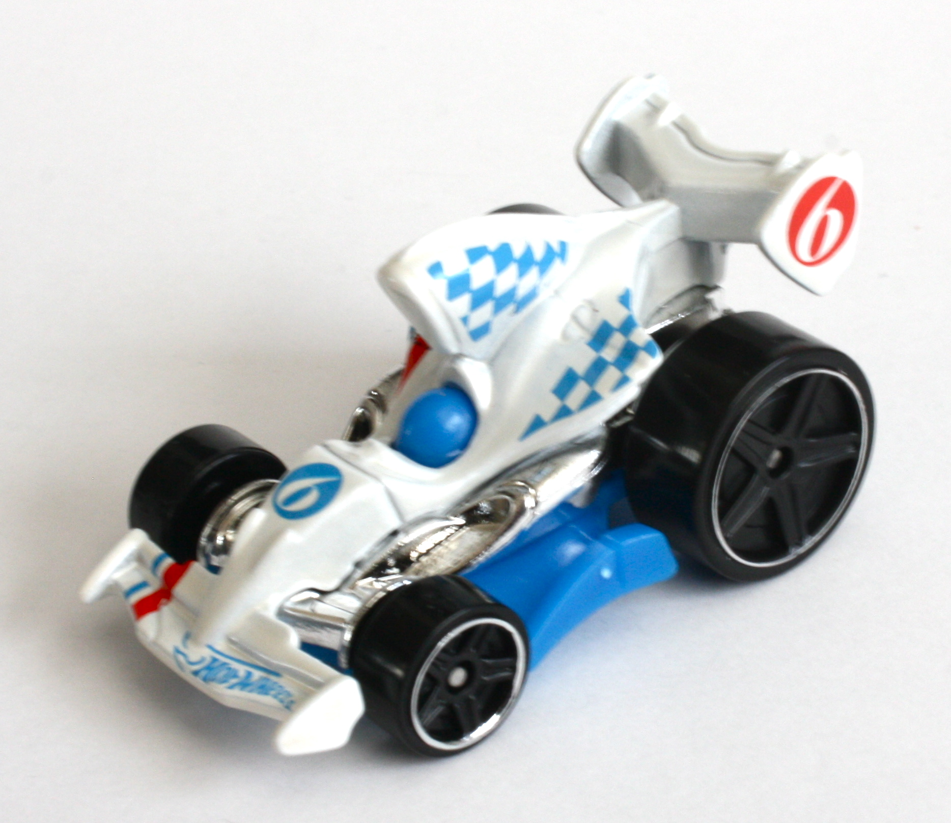 Hot Wheels New For 2013 Casting  HW Racing Tarmac Attack  White Race Team