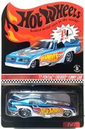 2014 Hot Wheels '77 Pontiac Firebird Funny Car carded