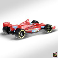 2019 Hot Wheels Indy 500 2nd colour back