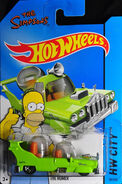 2014 - hot wheels - the homer.