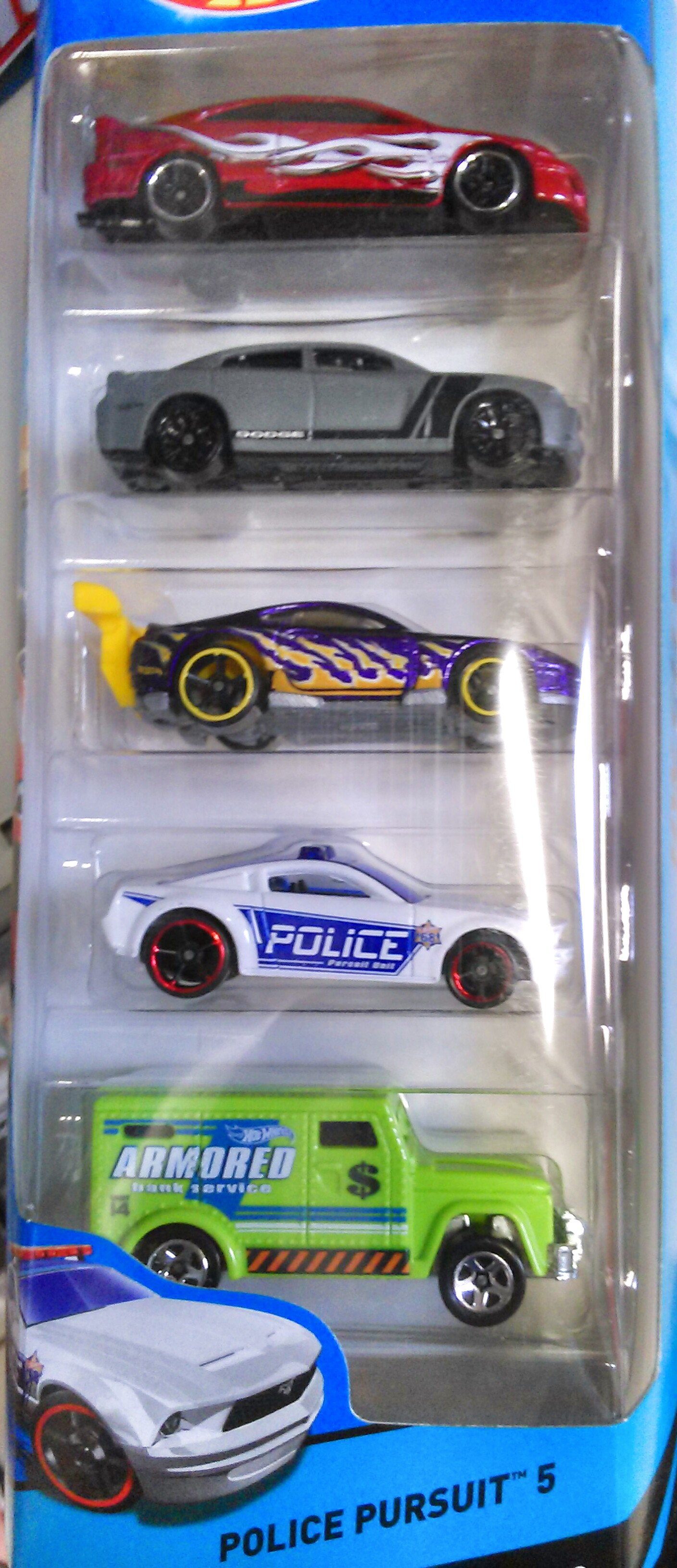 Police Pursuit 5 Pack 2014 Hot Wheels Wiki Fandom