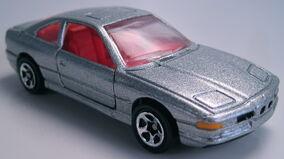 BMW 850i silver 5sp