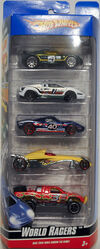 World Racers 5-Pack