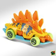 2019 Hot Wheels Motossaurus 2nd color right