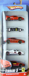 Ferrari 5-Pack 2009
