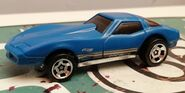 HW CORVETTE STINGRAY 82 3pack BLUE