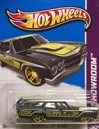 2013 248-250 HW Showroom - Performance - '70 Chevelle SS Wagon -Mooneyes- Black