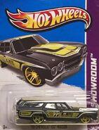2013 248-250 HW Showroom - Performance - '70 Chevelle SS Wagon -Mooneyes- Black
