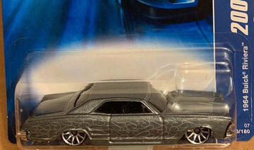 64 Buick Riviera Gray Flames 2007 All Stars