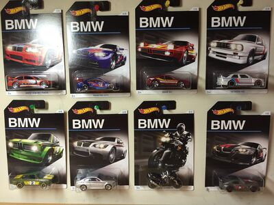 All 8 BMW Series cars (Cards)