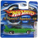 '70 Plymouth Superbird - 2006 First Editions Green 5SP 2-2