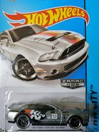 2015 011-250 HW City - Performance '10 Ford Shelby GT500 '32 K&N' ZAMAC