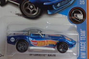 69 Corvette Racer Blue HW Race Team