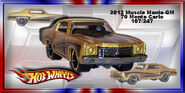 2012 Muscle Mania-GM 70 Monte Carlo