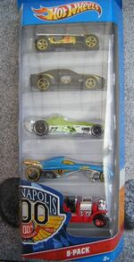 Hot Wheels 2012 5 pack Indianapolis 500