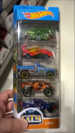 Hot Wheels 5 Pack Dino City