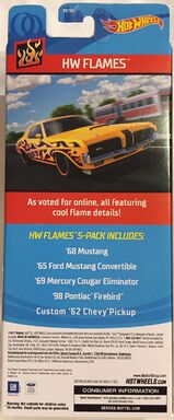 2018 HW Flames Pack (Back)