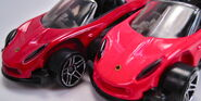 Lotus elise 340r different red colors 2001