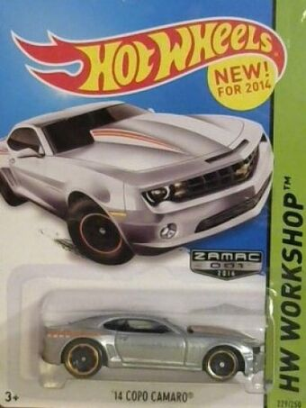 2014 Hot Wheels Zamac Edition 69 Camaro And School Busted