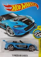 2017 HW Speed Graphics 09-10 177-365 '15 Mazda MX-5 Miata 'Eibach' Blue