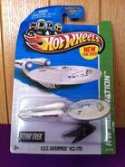 Hotwheels U.S.S. Enterprise NCC-1701 in box