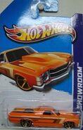 '71 El Camino - X1849 Card