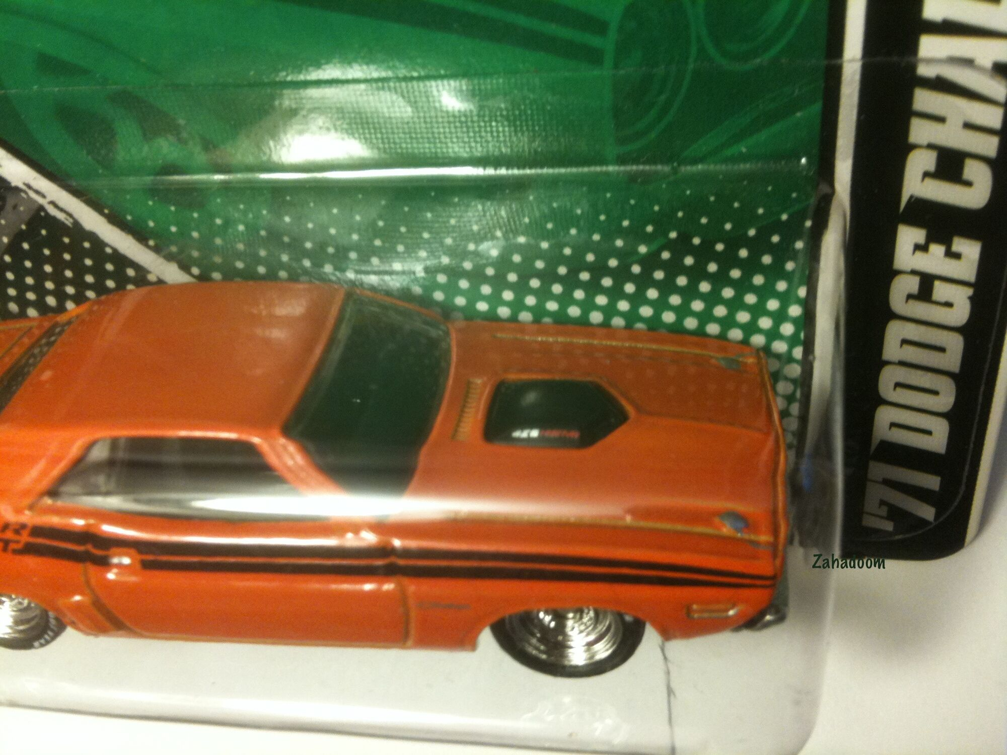 Image 2011 hot wheels garage mopar hal jordan 1971 dodge challenger green lantern hood detail 426 hemi jpg hot wheels wiki fandom powered by wikia