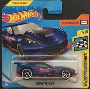 Corvette C7-R Blu FJY32 Card
