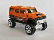 Hummer H2 Orange 12