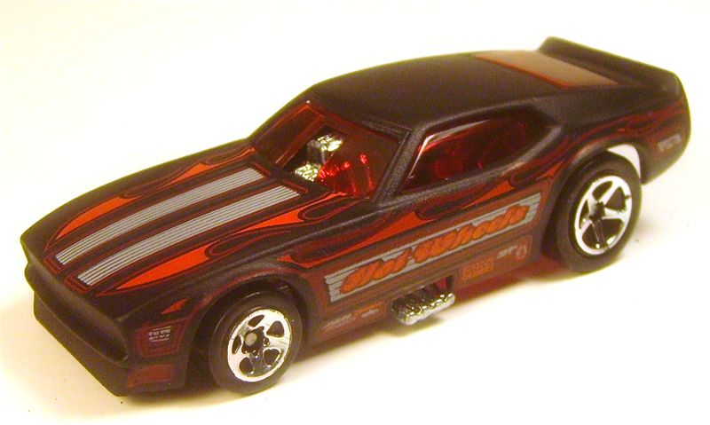 2005 182 Mustang Funny Car mailine black