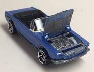 65 Mustang Convertible. Open hood