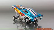 2014 Hot Wheels '77 Pontiac Firebird Funny Car back