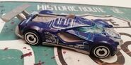 HW MACH SPEEDER aRT CARS blue