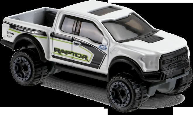 Hotwheel 17 ford f150 raptor