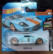 2020 Hot Wheels Ford GT-40 carded