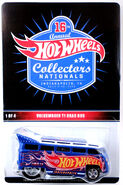 2016 - 16th Hot Wheels Annual Collectors Nationals VW Drag Bus