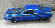 HW 70 DODGE CHALENGER HEMI Multipack exclusive BLUE