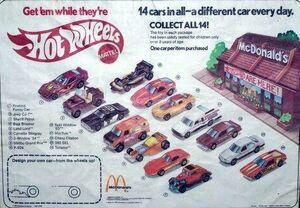 McDonalds 1983 Place Mat