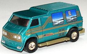 Custom Van Aqua