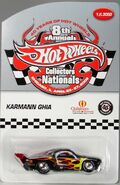 8TH HOT WHEELS COLLECTORS NATIONALS VW KARMANN GHIA CHARITY CAR
