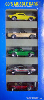 60's Muscle Car gift Pack Variation