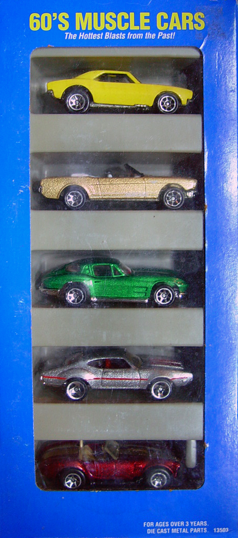 60 S Muscle Cars 5 Pack Hot Wheels Wiki Fandom Powered By Wikia