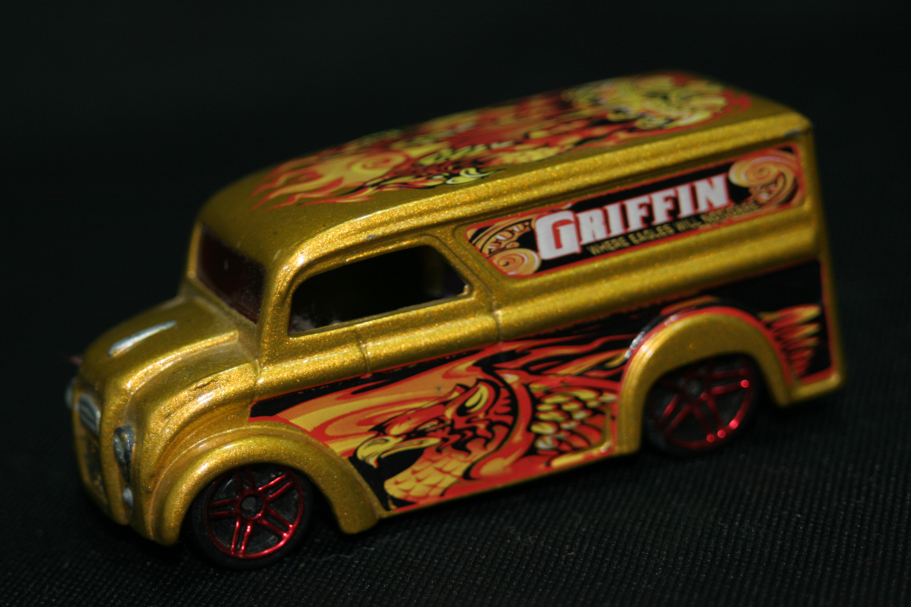 Hot Wheels 2013 Pop Culture Grateful Dead Dairy Delivery w//RR