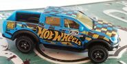 HW 19 FORD RANGER RAPTOR Hot trucks BLUE