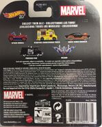 Punisher Van Card Rear