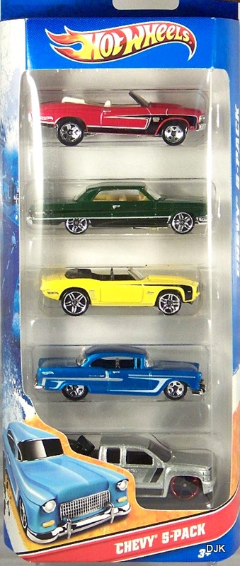 Chevy 5 Pack 2011 Hot Wheels Wiki Fandom Powered By