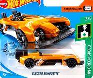 2019 Hot Wheels Electro Silhouette